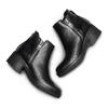 Stivaletti donna con zip bata, nero, 794-6220 - 26
