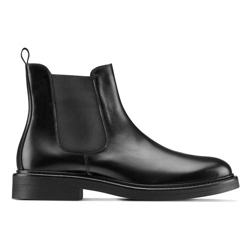 Chelsea Boots in vera pelle bata, nero, 894-6733 - 26