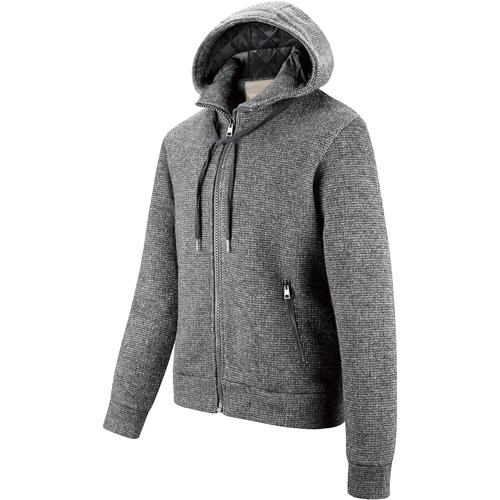 Giacca da uomo con cappuccio, grigio, 979-2146 - 16