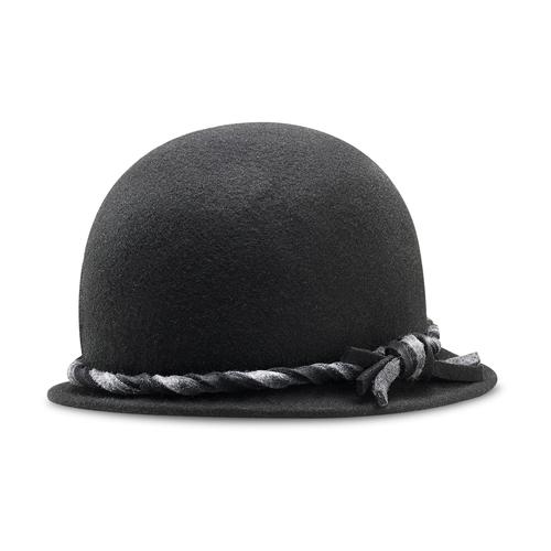 Cappello da donna in lana bata, nero, 909-6671 - 13