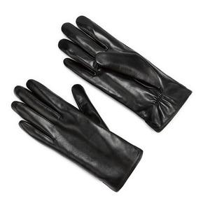 Guanti da donna in vera pelle bata, nero, 904-6129 - 13