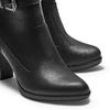 Stivaletti da donna in similpelle bata, nero, 791-6240 - 15