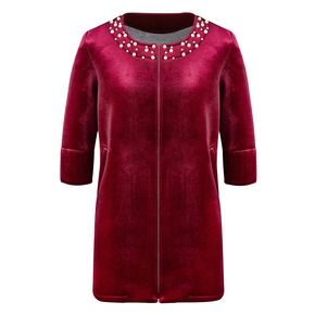 Cappotto rosso da donna bata, rosso, 979-5222 - 13