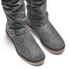 Stivali alti da bimba mini-b, grigio, 393-2427 - 15