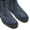 Chelsea Boots in suede bata, blu, 893-9225 - 15