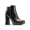 Ankle boots con tacco quadrato bata, nero, 791-6290 - 13