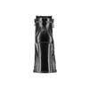 Ankle boots con tacco quadrato bata, nero, 791-6290 - 16