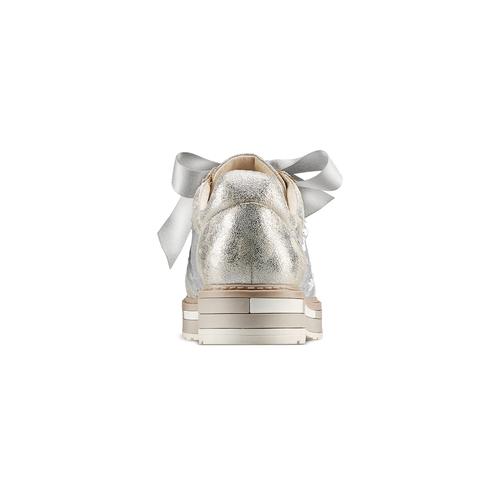 Stringate con paillettes bata, argento, 529-1288 - 15
