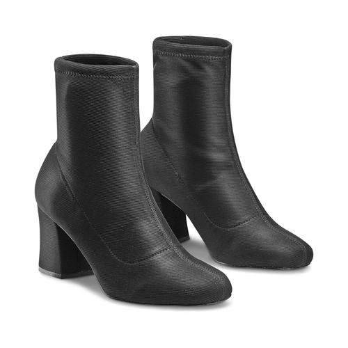 Stivaletti calzino bata, nero, 799-6264 - 16