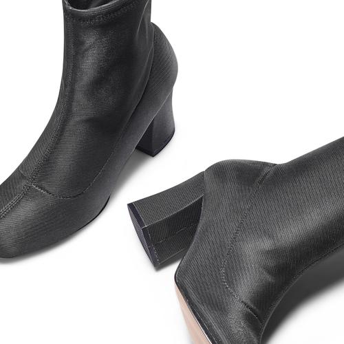 Stivaletti calzino bata, nero, 799-6264 - 26