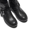 Ankle boots western inspired bata, nero, 599-6691 - 17