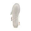Sneakers alte con fibbie bata, bianco, 541-1193 - 19