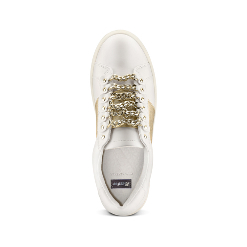 Sneakers basse da donna bata, bianco, 541-1192 - 17