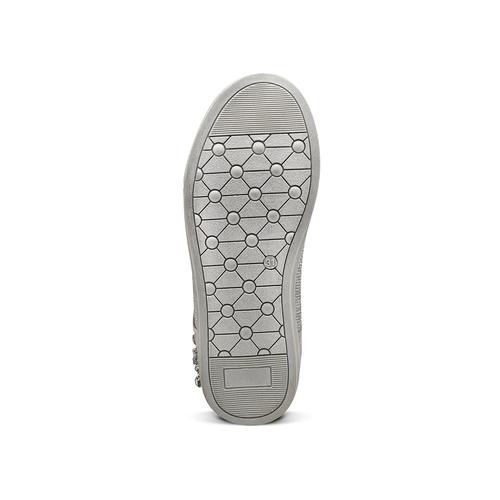 Sneakers alte da bambina mini-b, grigio, 329-2301 - 17