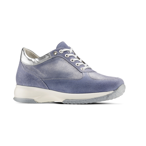 Sneakers casual con lacci bata, 523-9306 - 13