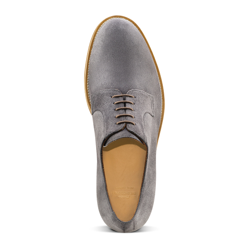 Derby in pelle scamosciata bata-the-shoemaker, 823-2325 - 15
