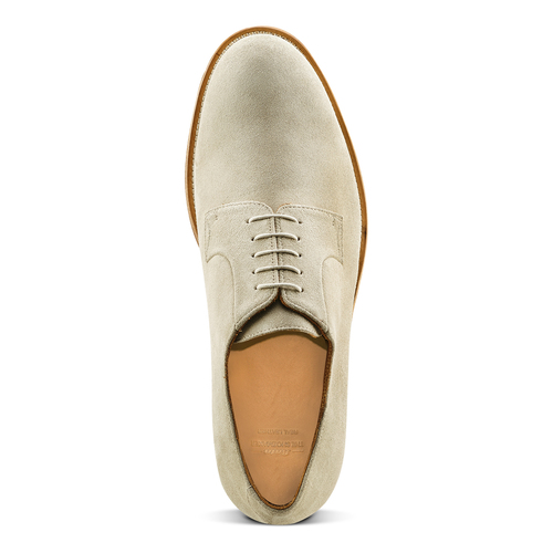 Derby in suede bata-the-shoemaker, marrone, 823-3325 - 15