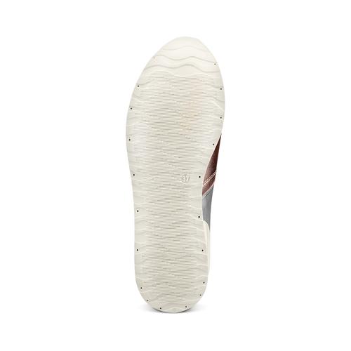 Sneakers Platform bata, 644-0198 - 19