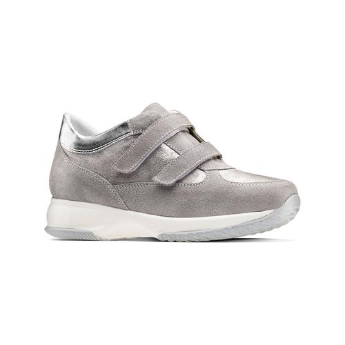 Scarpe casual da donna bata, grigio, 513-2202 - 13