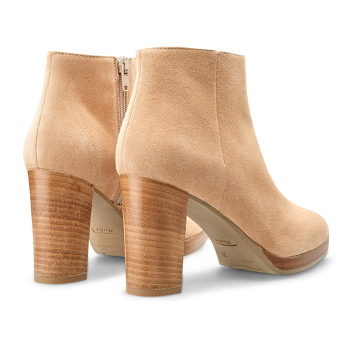 Ankle Boots in suede bata, 793-8250 - 26