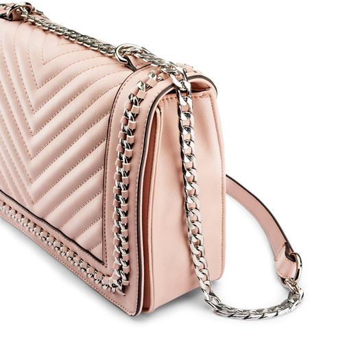 Tracolla rosa con dettaglio catena bata, 961-8275 - 15