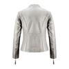 Giacca in pelle da donna bata, grigio, 974-2180 - 26