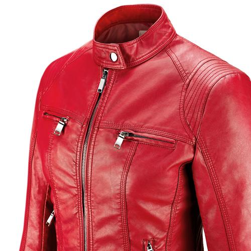 Giacca rossa da donna bata, rosso, 971-5206 - 15