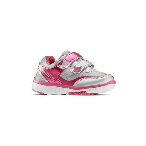 Sneakers rosa con strappi mini-b, 229-1220 - 13