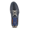 Sneakers in nabuk da uomo bata, blu, 846-9146 - 15