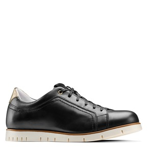 Sneakers Flexible in pelle flexible, nero, 524-6199 - 13