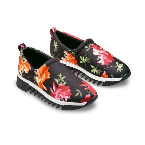 Sneakers senza lacci da donna bata, nero, 539-6123 - 16