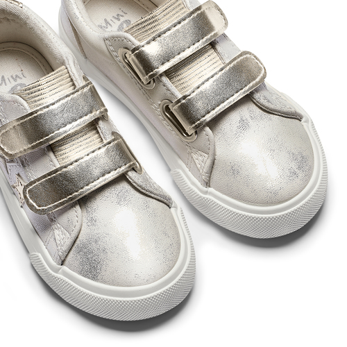 Sneakers basse con stelle mini-b, bianco, 221-1218 - 19