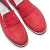 Mocassini da donna in suede bata-touch-me, rosso, 513-5181 - 26