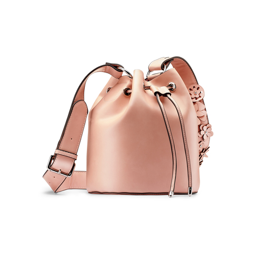 Borsa a secchiello bata, rosa, 961-5230 - 13
