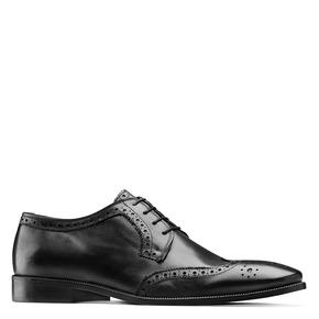 Derby da uomo in pelle bata-the-shoemaker, nero, 824-6335 - 13