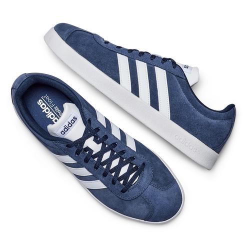 Adidas VL Court adidas, blu, 803-9379 - 26