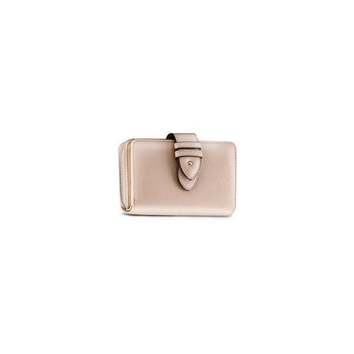 Portafoglio da donna bata, beige, 941-8160 - 13