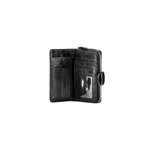 Portafoglio in similpelle bata, nero, 941-6160 - 15