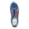Sneakers in vera pelle da uomo bata, blu, 844-9142 - 17