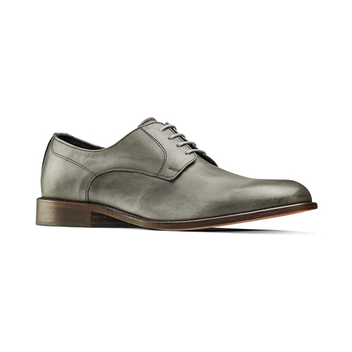 Derby in vera pelle bata-the-shoemaker, 824-2332 - 13