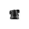 Sneakers nere con lacci in satin bata, nero, 549-6202 - 15