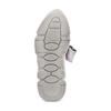 Sneakers con lacci in satin bata, grigio, 549-1202 - 19