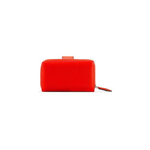 Portafoglio da donna bata, rosso, 941-5160 - 26