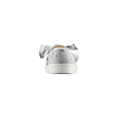 Slip on con fiocchi mini-b, argento, 329-1337 - 15