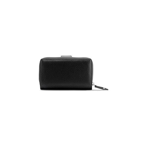 Portafoglio in similpelle bata, nero, 941-6160 - 26