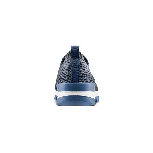 Scarpe da corsa senza lacci bata, blu, 839-9140 - 16