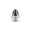 Sneakers in pelle Platform bata, blu, 624-9158 - 15