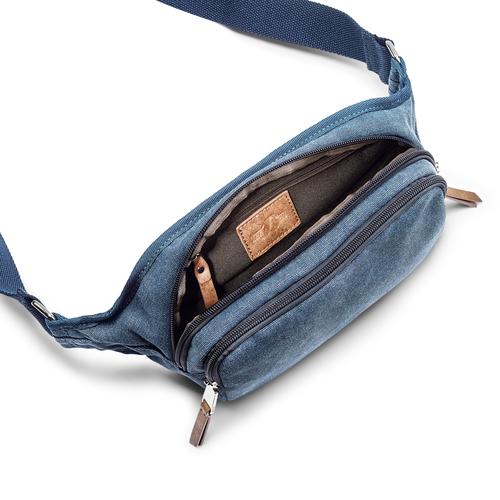 Marsupio da uomo bata, blu, 969-9247 - 16