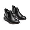 Ankle Boots con occhielli  bata, nero, 591-6806 - 16
