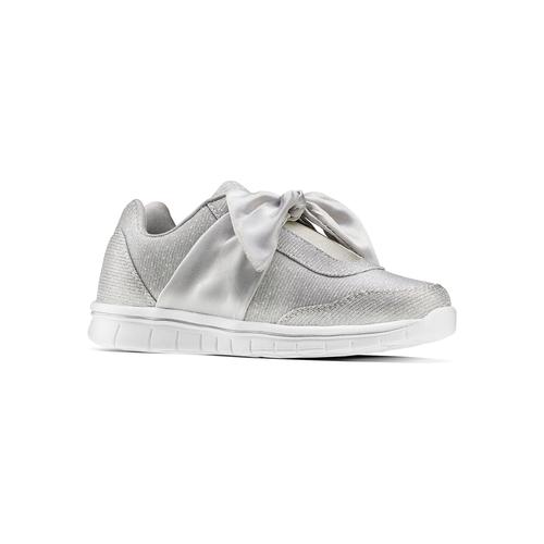 Sneakers con fiocco mini-b, bianco, 329-1341 - 13